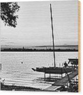 Madison Capitol Across Lake Monona Wood Print