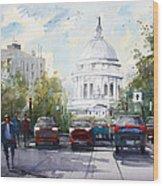 Madison - Capitol Wood Print