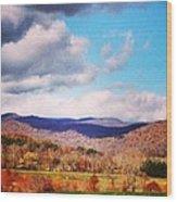 Madison County Wood Print