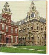 Madison County Ohio Wood Print