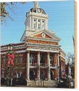 Madison's Morgan County Courthouse Wood Print