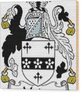 Madoc Coat Of Arms Irish Wood Print