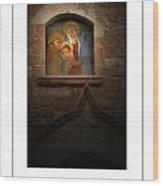 Madonna And Child Poster Wood Print