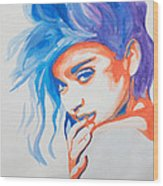 Madonna Wood Print by Michael Ringwalt