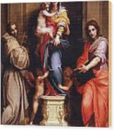 Madonna Of The Harpies Wood Print