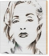 Madonna Wood Print by Wu Wei