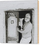 Madras Man Wood Print