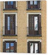 Madrid Wood Print