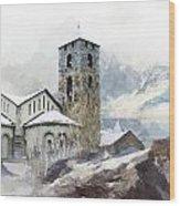 Madriu Perafita Claror Valley Wood Print