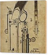 Magazine Fire-arm - Patented On 1877 Wood Print