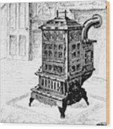 Magazine Stove, 1880 Wood Print