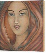 Magdalena Wood Print