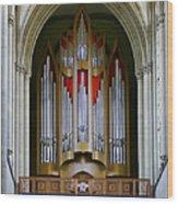 Magdeburg Cathedral Organ Wood Print