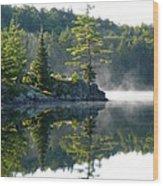 Maggie Lake 1 Wood Print