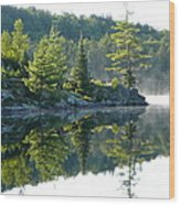 Maggie Lake 2 Wood Print