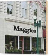 Maggie's Wood Print