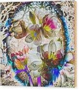 Magic Flowering Wood Print