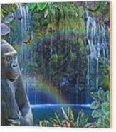 Magic Jungle Wood Print