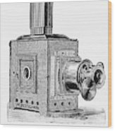 Magic Lantern, 1891 Wood Print