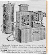 Magic Lantern, 1900 Wood Print