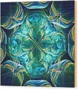 Magic Mark Wood Print