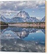 Magic Of Reflection - 2 Wood Print