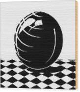 Magic Orb Wood Print
