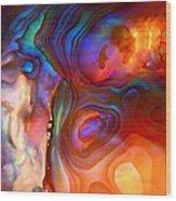 Magic Shell 2 Wood Print by Rona Black