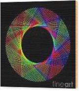 Magic Wheel 2 Wood Print