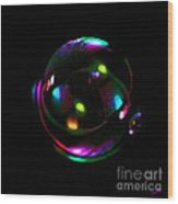 Magical  Bubble Wood Print