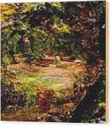 Magical Forest - Myth - Fantasy Wood Print