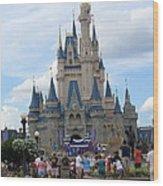 Magical Kingdom Wood Print