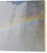 Magical Seven Colours Wood Print