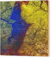 Magical Yellow 3 Wood Print