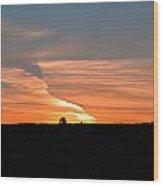 Magnificant Sky Wood Print