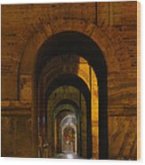Magnificent Arches Wood Print by Al Bourassa