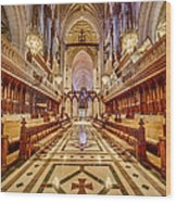Magnificent Cathedral Iv Wood Print