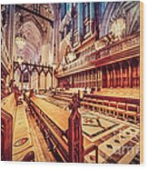Magnificent Cathedral Wood Print