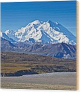 Magnificent Denali Wood Print