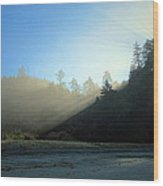 Magnificent Light One Wood Print
