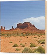 Magnificent Monument Valley Wood Print