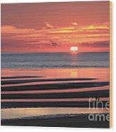 Magnificent Sunset Wood Print
