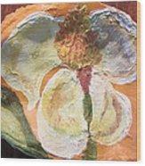 Magnolia Orioles Wood Print by Debbie Nester