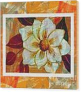 Magnolia Seduction Wood Print