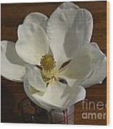 Magnolia Still 1 Wood Print