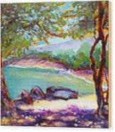 Mahai'ula Shadows Wood Print