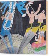 Mahakali Wood Print