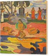 Mahana No Atua Aka. Day Of The Gods Wood Print