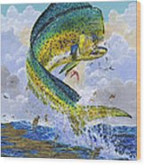 Mahi Hookup Off0020 Wood Print