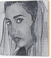 Mahira Khan Wood Print